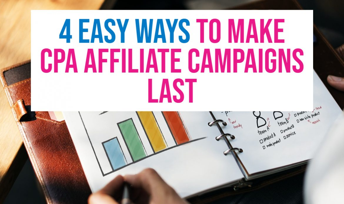 4 Easy Ways To Survive in CPA Affiliate Marketing