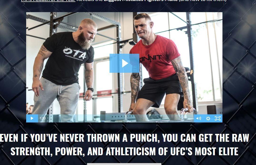 MMA offer