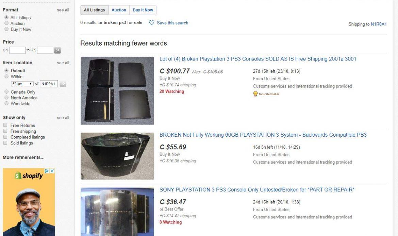Ebay Buy PS3