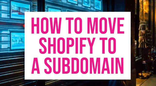 shopify subdomain setup