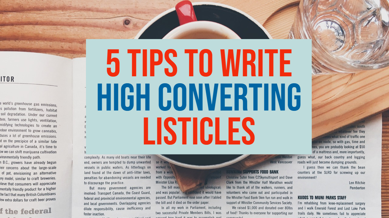 high converting listicles