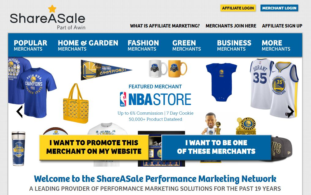 affiliate marketing companies Shareasale