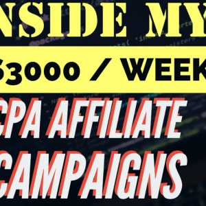 Profitable CPA Affiliate Campaign Ideas - $3000 a Week Pay Per Installs