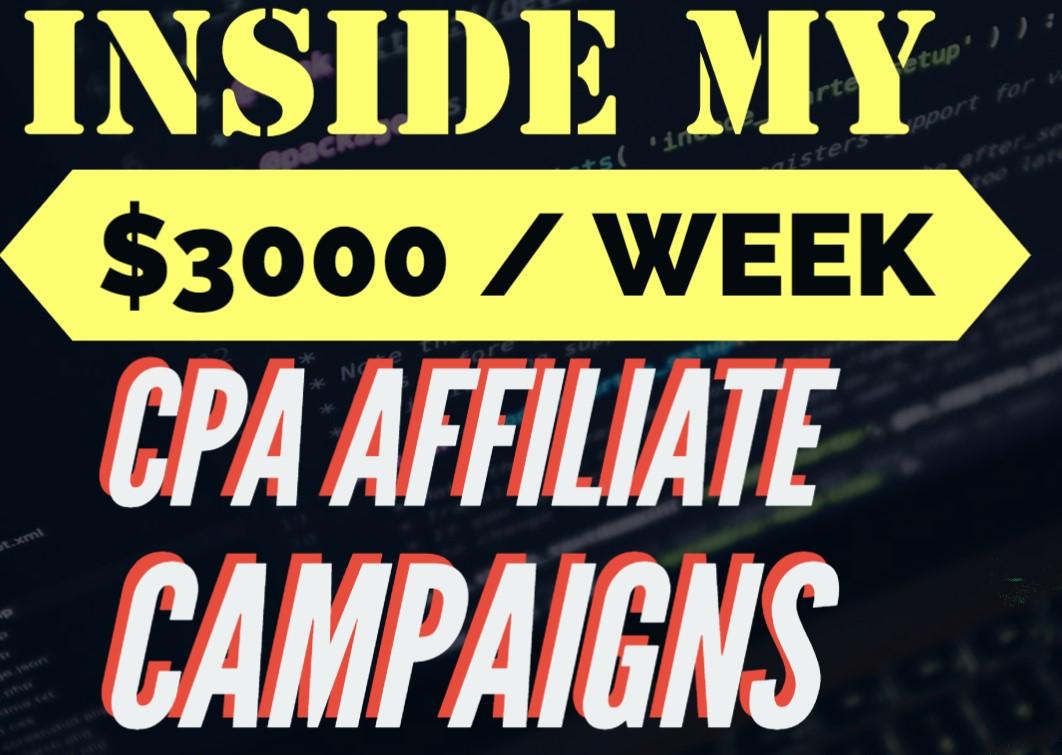 profitable cpa affiliate