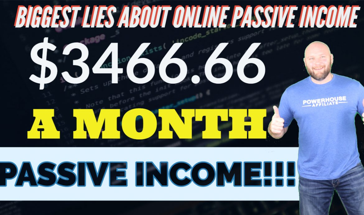 Passive Income Ideas – Is there Such Thing as Online Passive Income?