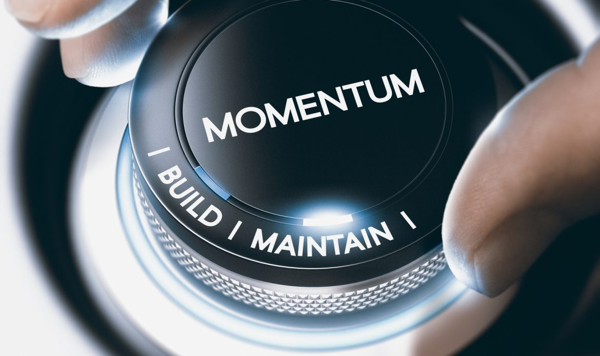 Building momentum in your business.