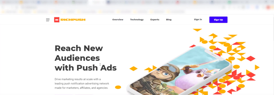Richpush push ads