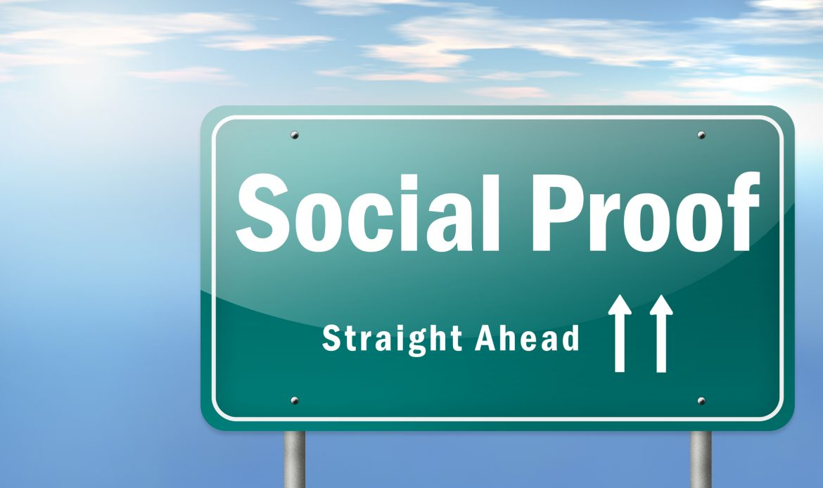 Higher conversions with social proofing